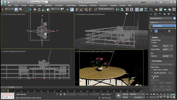 Daylighting with ART Sun Positioner: 3ds Max 2017 New Features