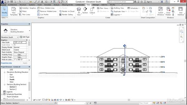 Using the Project Browser: Revit 2017: Essential Training for Architecture (Imperial)