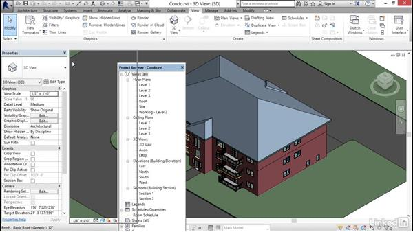 Customizing the user interface: Revit 2017: Essential Training for Architecture (Imperial)