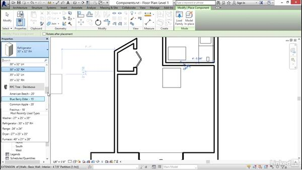 Adding plumbing fixtures and other components: Revit 2017: Essential Training for Architecture (Imperial)