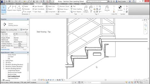 Using arrays to parametrically duplicate objects: Revit 2017: Essential Training for Architecture (Metric)