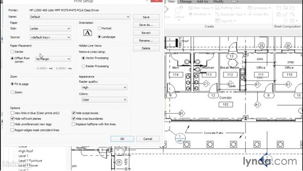 Plotting and creating a PDF: Revit 2017: Essential Training for Architecture (Metric)