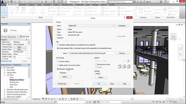 Printing and performance: Revit 2017: New Features for Architecture