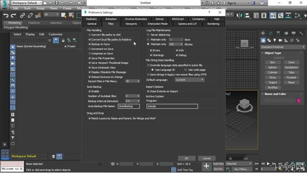 Setting preferences: 3ds Max 2017 Essential Training