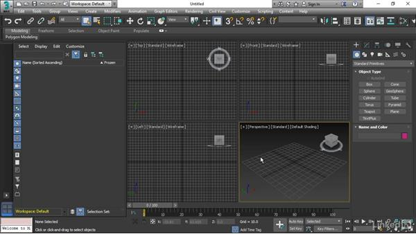 Using project folders: 3ds Max 2017 Essential Training