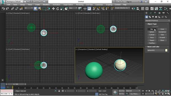 Using the Create and Modify panels: 3ds Max 2017 Essential Training