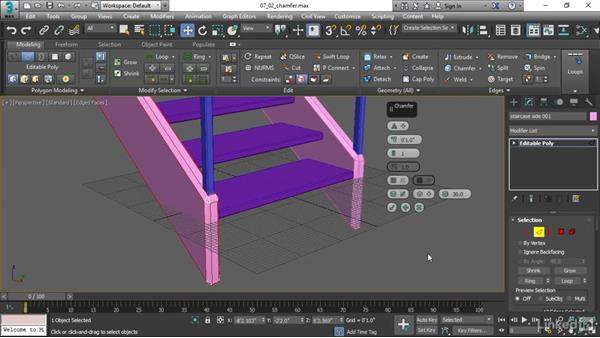 Detailing with Chamfer: 3ds Max 2017 Essential Training
