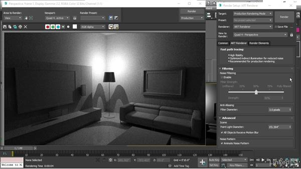 Adjusting light shape: 3ds Max 2017 Essential Training