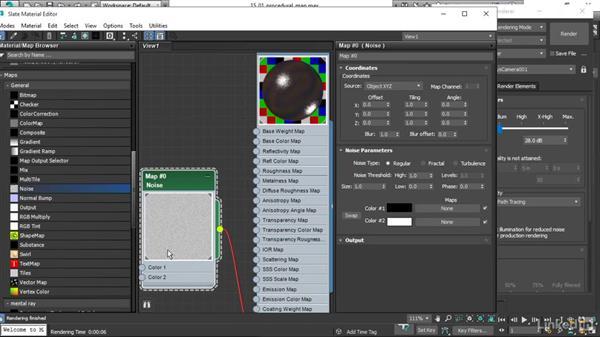 Placing 3D procedural maps: 3ds Max 2017 Essential Training
