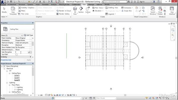 Creating floor plans: Revit 2017: Essential Training for MEP (Metric)