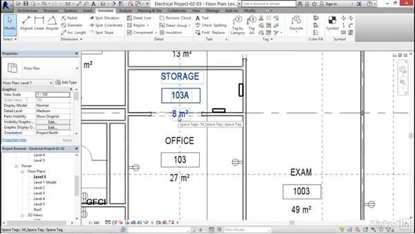 Creating spaces: Revit 2017: Essential Training for MEP (Metric)