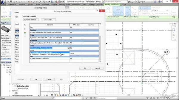 Modeling mains: Revit 2017: Essential Training for MEP (Metric)