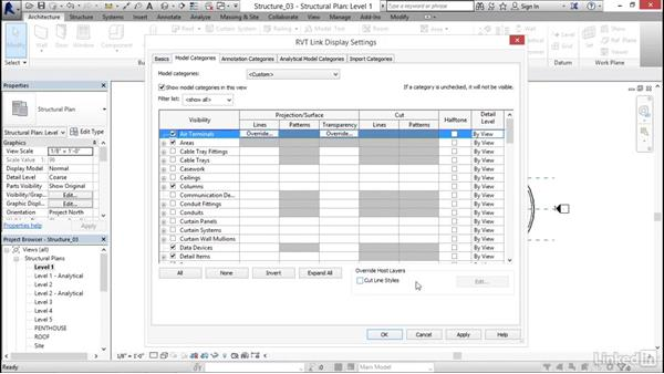Setting up structural views: Revit 2017: Essential Training for Structure