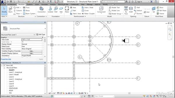 Adding piers and pilasters: Revit 2017: Essential Training for Structure