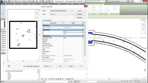 Adding isolated footings: Revit 2017: Essential Training for Structure