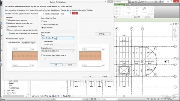Tagging framing: Revit 2017: Essential Training for Structure