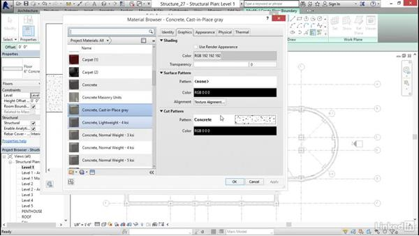 Creating a slab on grade: Revit 2017: Essential Training for Structure