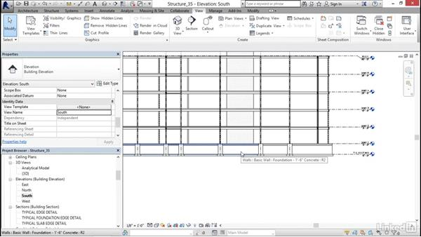 Area reinforcing: Revit 2017: Essential Training for Structure