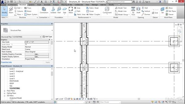 View Settings: Revit 2017: Essential Training for Structure