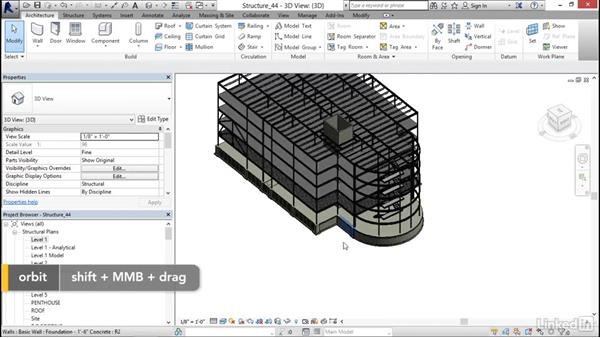 Creating ramps: Revit 2017: Essential Training for Structure
