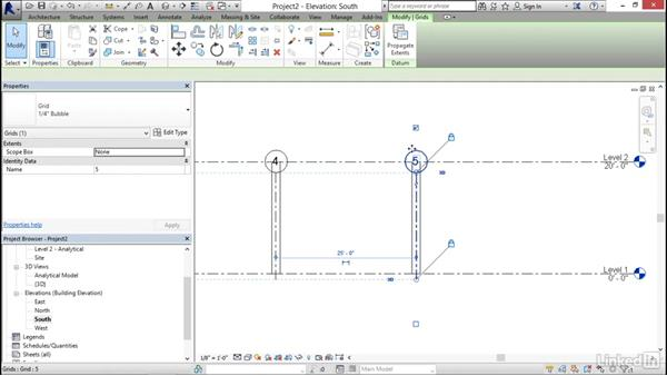 Sloping framing: Revit 2017: Essential Training for Structure
