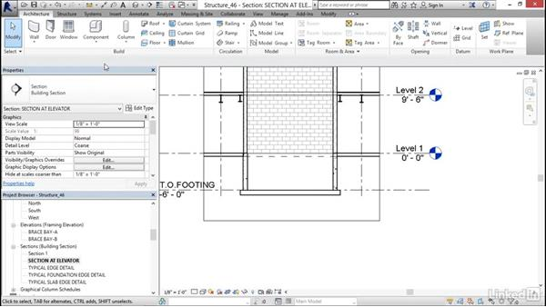 Sections and callouts: Revit 2017: Essential Training for Structure
