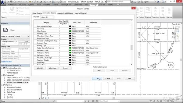 Revisions: Revit 2017: Essential Training for Structure