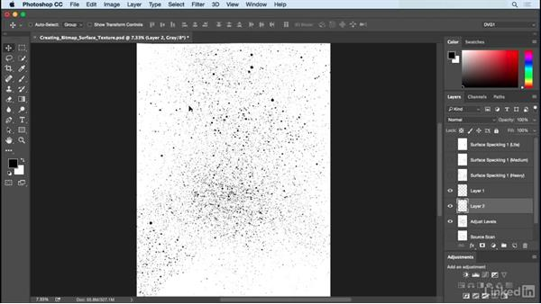 Creating bitmap surface textures: Drawing Vector Graphics: Painting with Vectors