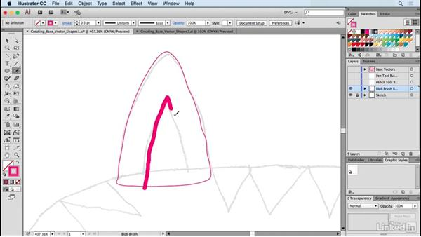 Creating base vector shapes: Drawing Vector Graphics: Painting with Vectors