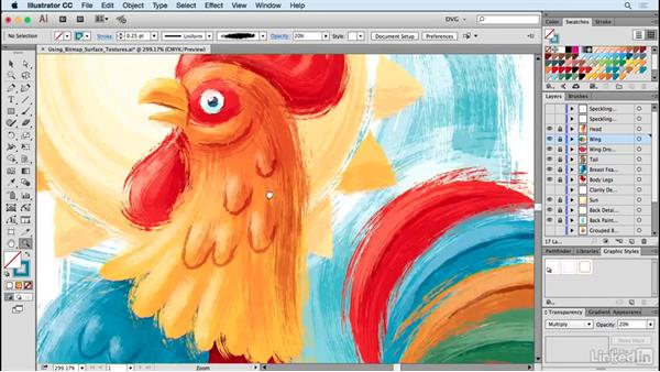Using bitmap surface textures: Drawing Vector Graphics: Painting with Vectors