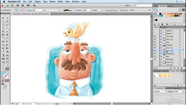 Fashion Paint Illustrations On Illustrator Software