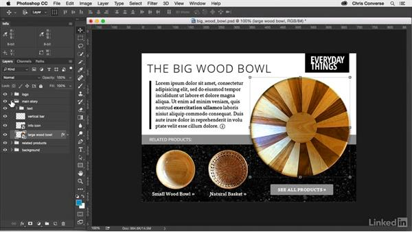 About the exercise files: Design the Web: Control Colors in Photoshop with SmartObjects