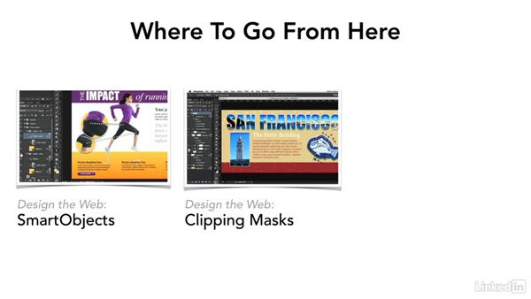 Where to go from here: Design the Web: Control Colors in Photoshop with SmartObjects