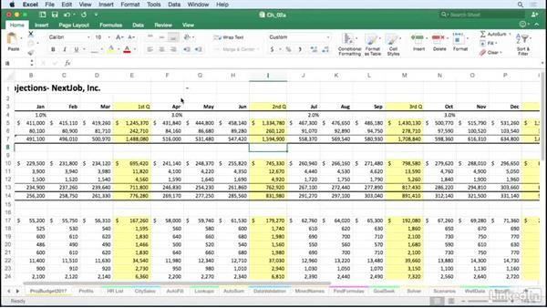 Navigate between workbooks efficiently: Excel for Mac 2016 Tips and Tricks
