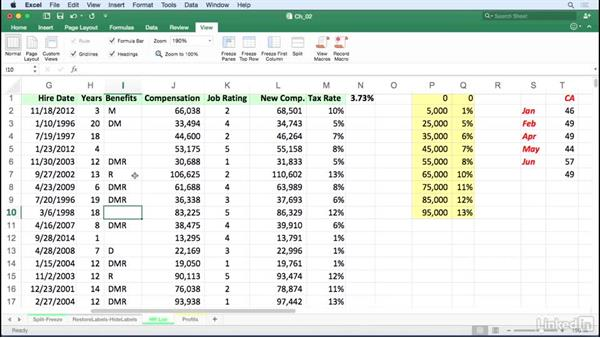 Navigate within worksheets: Excel for Mac 2016 Tips and Tricks