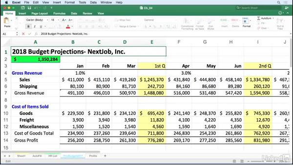 Use shortcuts when editing cell content: Excel for Mac 2016 Tips and Tricks