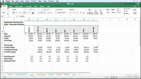 Accentuate data with alignment tools: Excel for Mac 2016 Tips and Tricks