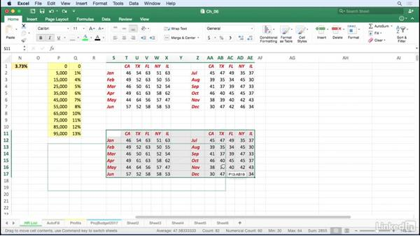 Accelerate copying and moving cells: Excel for Mac 2016 Tips and Tricks
