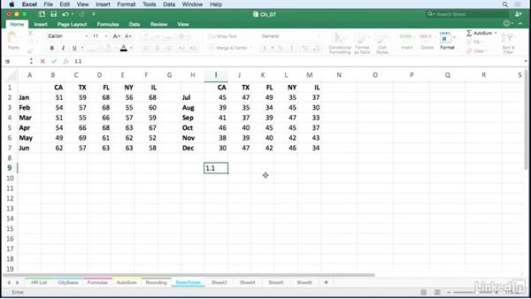 Perform calculations without formulas: Excel for Mac 2016 Tips and Tricks
