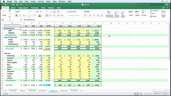 Create linked dynamic and linked static images: Excel for Mac 2016 Tips and Tricks