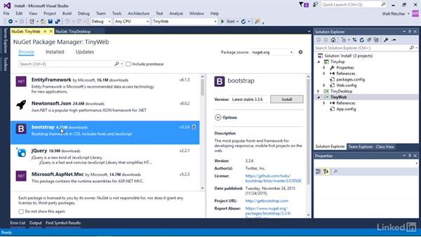 Install a package: Windows Package Management with NuGet and Chocolatey