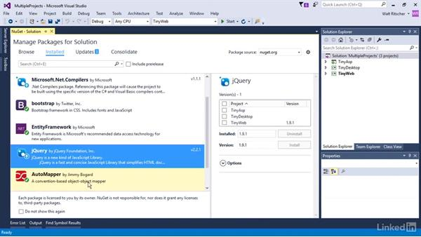 Manage packages for multiple projects: Windows Package Management with NuGet and Chocolatey