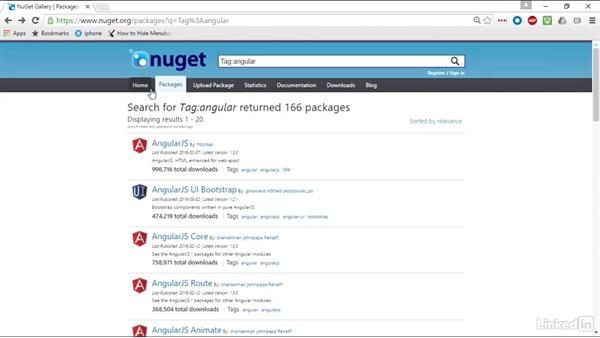 Use NuGet Gallery to discover packages: Windows Package Management with NuGet and Chocolatey