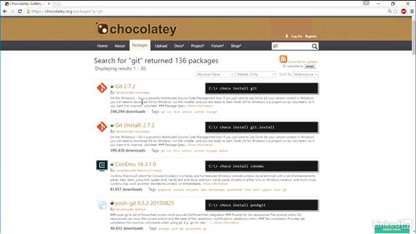 Find apps with Chocolatey Gallery: Windows Package Management with NuGet and Chocolatey