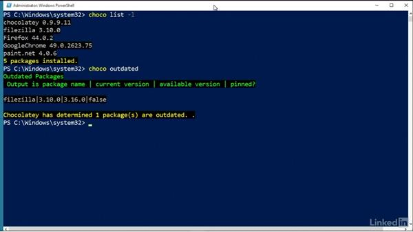 Use Chocolatey to update applications: Windows Package Management with NuGet and Chocolatey