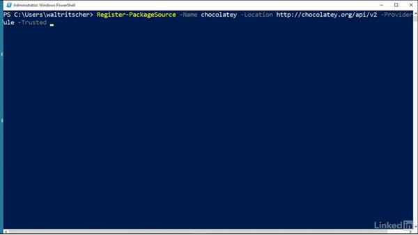 Use OneGet to install applications: Windows Package Management with NuGet and Chocolatey