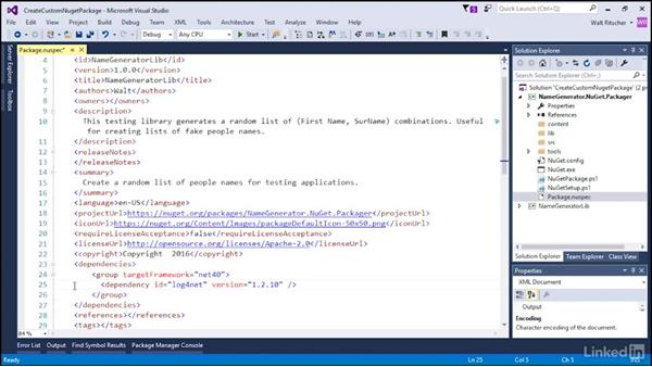 Create a custom NuGet package: Windows Package Management with NuGet and Chocolatey