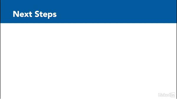 Next steps: Learn Access 2016: The Basics