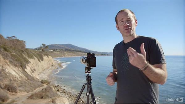 Using a tripod and a long lens for a hi-res pano: Photography Tips: Overcoming Camera and Lens Limitations