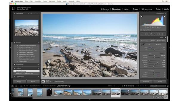 Automatically blending exposures in Lightroom: Photography Tips: Overcoming Camera and Lens Limitations